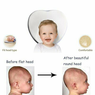 New Baby Pillow Prevent Flat Head Memory Foam Infant Cushion Sleeping Support TO