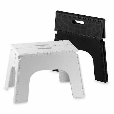Foldable Plastic Multi Purpose Folding Step Stool Sturdy Seat Home Kitchen Diy