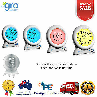 Gro Company Gro Clock Baby Sleep Trainer Night Light with Kids Bedtime Storybook
