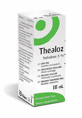 Thealoz 10ml - Preservative Free - For The Treatment Of Dry Eye