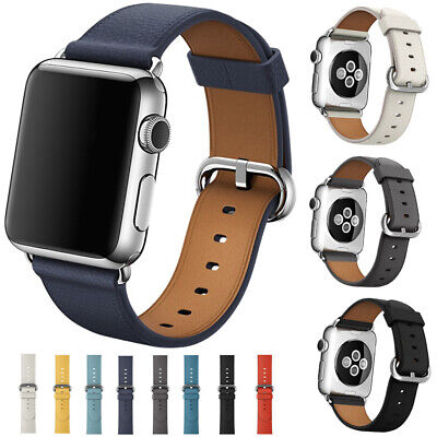 2017 New Arrival~Genuine Leather Strap Bracelet Band For Apple Watch 1/2 38/42mm