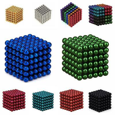 Magnet Balls Magic Beads 3D Puzzle Sphere Magnetic Magnetkugeln 3mm/5mm 216pcs