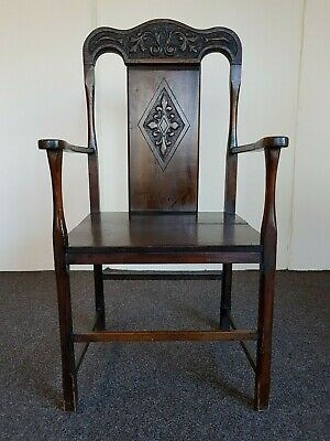 Antique Vintage 18th Century Welsh Chair (Delivery Available)
