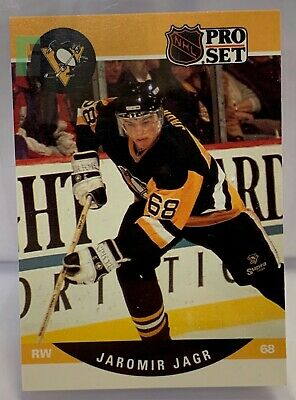 1990 PRO SET Jaromir Jagr #632 Rookie - 9 MINT GMA Graded