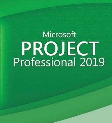 PROJECT 2019 PROFESSIONAL Software ESD - Activation Key