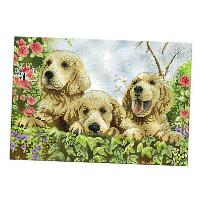 Handmade Stamped Cross Stitch Kit 11 Count Embroidery Kits for Home Decor