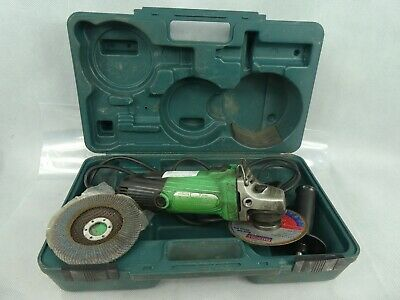 Hitachi G12SS 115mm Disc Grinder 230v Corded Power Used Condition With Hard Case