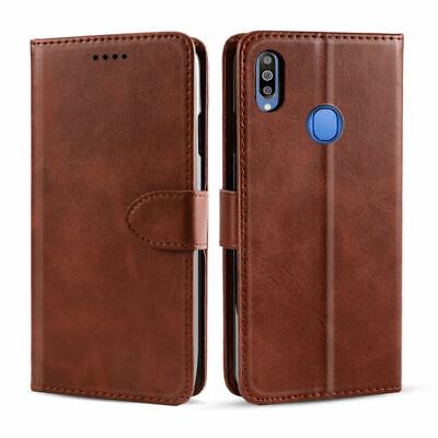 For Samsung Galaxy M10 M20 M30 Luxury Leather Protective Flip Stand Case Cover