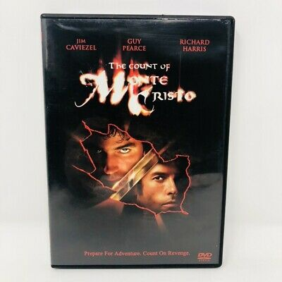 The Count of Monte Cristo DVD Free Shipping