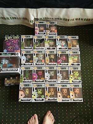 Rick And Morty Funko Pop Lot Brand New Lot Has Exclusives And 1 Chase