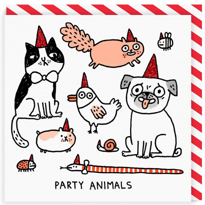 Blank Card | Party Animals