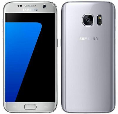Samsung Galaxy S7 32GB SM-G930A AT&T Unlocked Silver Titanium Android Smartphone