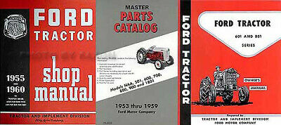 Ford Tractor 2600 3600 4100 4600 Operators Manual To Assure Years Of Trouble-Free Service Tractor Manuals & Publications