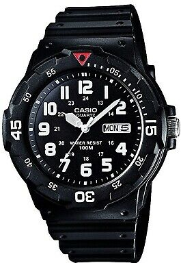 Casio MRW-200H Mens Quartz Watch with black Dial. (Brand New-Not Opened)