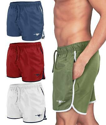 Costume da Bagno Uomo Boxer HARVEY MILLER Shorts Mare Pantaloncino 5398IT