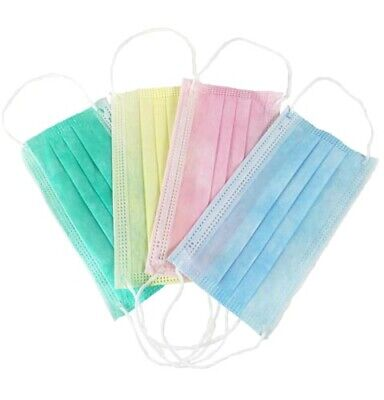 300 Pcs Disposable - 3 Ply Earloop Face Mask - For Medical / Beauty Salon