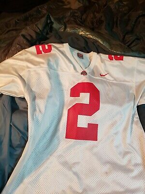 brand new 031dd 2dcaa REAL Nike Ohio State OSU Buckeyes Terrelle Pryor  2 Authentic Throwback Jersey  L