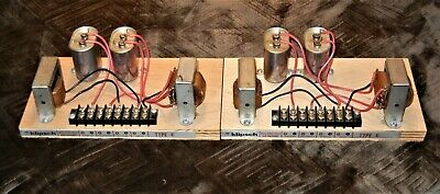 Klipsch Heresy Crossovers Type (E) Both Worked When Tested In Cabinets Very Nice