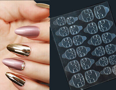 clear false nail removable jelly glue/ Adhesive tabs for press on false nails