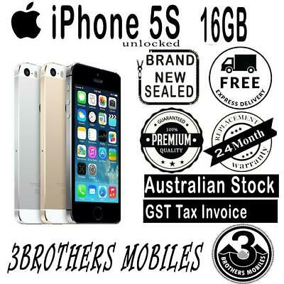 [Au Stock] Brand New Sealed Apple Iphone 5S 16Gb Unlocked + Gst Tax Invoice