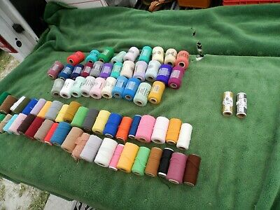 Pretty Punch yarn & Angel Hair Lot Of 76 Some New Estate Find