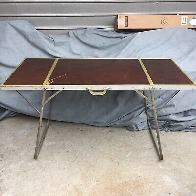 Vintage Camping Folding Table Picnic Air Stream