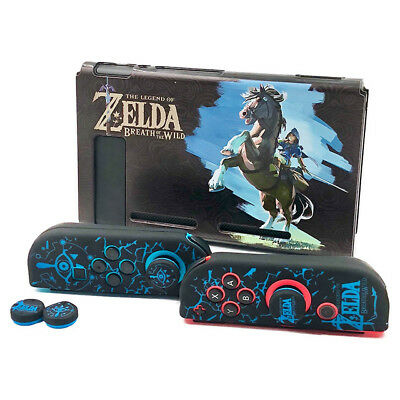 Protective Zelda Dockable Cover Case Shell For Nintendo Switch Console & Joy-con