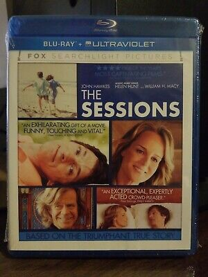 The Sessions Blu-ray + Ultraviolet SEALED NEW