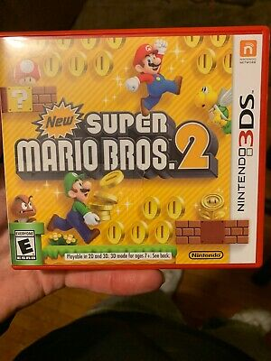 New Super Mario Bros. 2 for Nintendo 3DS --- GAME CARTRIDGE ONLY!!! ---