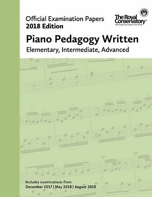 2018 Official Exam Papers: Piano Pedagogy