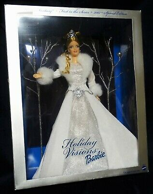 2003 Holiday Visions Barbie Doll Winter Fantasy Special Edition Sparkly, Blonde