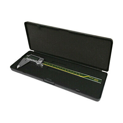 "8"" Electronic Digital Caliper IN/MM/F 200mm .0005"" 1/64TH Large LCD Display"