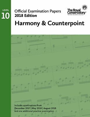 2018 Official Exam Papers: Level 10 Harmony & Counterpoint