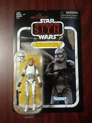 Hasbro Star Wars The Vintage Collection 41st Elite Clone Trooper 3.75 Exclusive