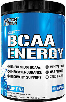 Evlution Nutrition BCAA Energy - High Performance Energizing Amino Acid For And