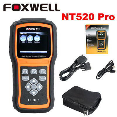 Foxwell NT520 Pro Multi-System OBD2 Diagnostic Scanner Updated Version of NT510
