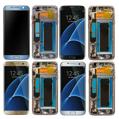 LCD Touch Screen Digitizer For Samsung Galaxy S7 Edge G935T G935A G935V G935P US