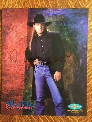 Wade Richardson Country Music Autographed Signed Photo
