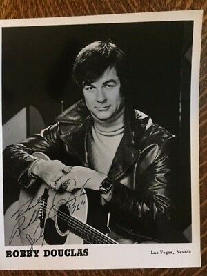 Bobby Douglas Country Music Autographed Signed Photo