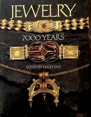 Jewelry 7000 Years Edited By Hugh Tait British Museum Collections Hardcover 1991
