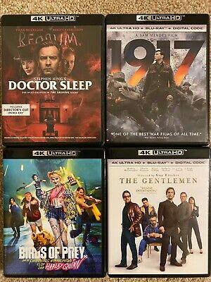 4K Ultra HD Movie Lot BUYER CHOOSES ANY TITLE(S)! NEVER VIEWED! SEE DETAILS!