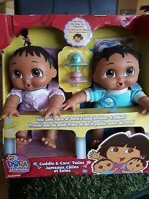 Dora The Explorer Twin Brother And Sister Dolls