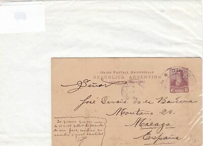 argentina early stamps postcard  Ref 9954