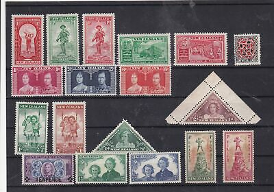 new zealand mounted mint stamps  Ref 9413