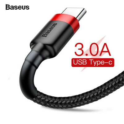 Baseus Micro USB/Type C Cable Quick Charge QC3.0 Charging Phone Data Cable Cord