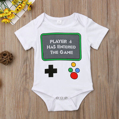 Newborn Baby Boy Girl Striped Clothes Jumpsuit Romper Bodysuit Playsuit Outfits