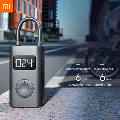 Xiaomi Mini Portable Inflatable Treasure Compressor Tire Electric Bike Air Pump