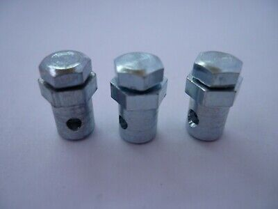 3 X Vespa LML Clutch & Gear Cable Nipple Trunnions Quality Italian Made by RMS
