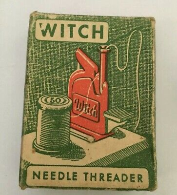 VINTAGE WITCH NEEDLE THREADER Made In West Germany
