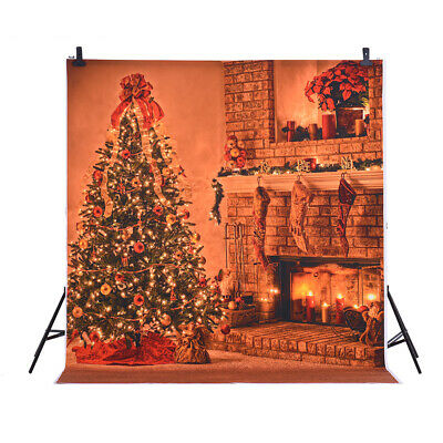 Andoer 1.5 * 2m Photography Background Backdrop Digital Printing Christmas L8O9